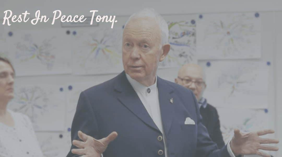 Tony BUZAN Pape du Mind Mapping Disparait