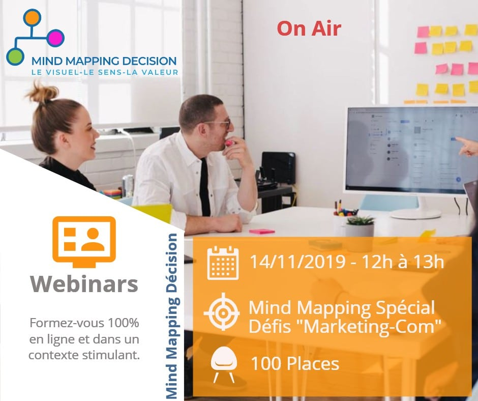 Webinar Mind Mapping Gratuit 2019 Marketing Communication