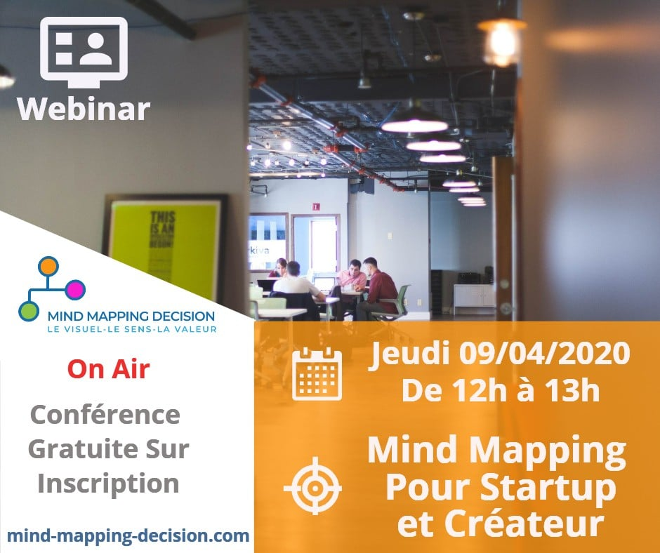 Webinar Mind Mapping Gratuit Marketing Ventes nov 2019